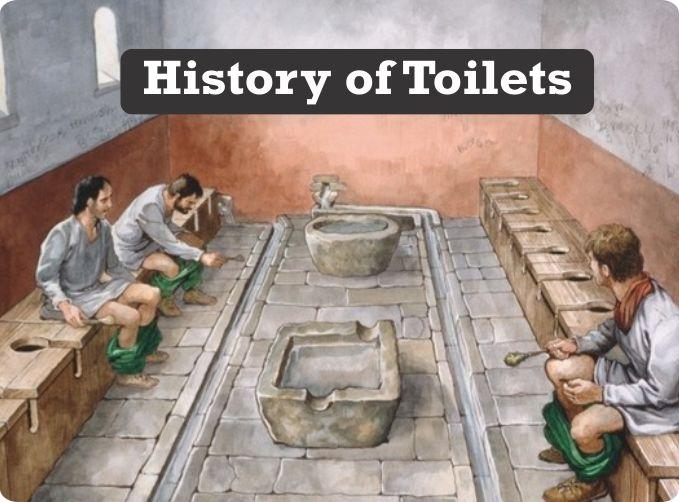 history of toilets
