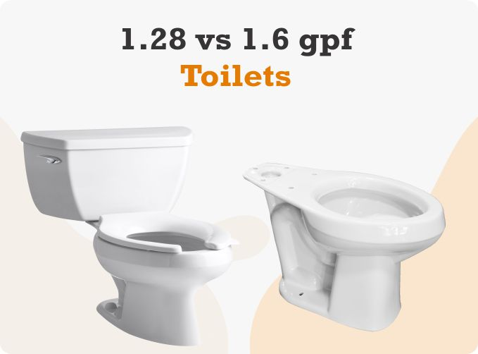 1.28 vs 1.6 GPF Toilets: What is GPF Toilet & Which One to Choose?
